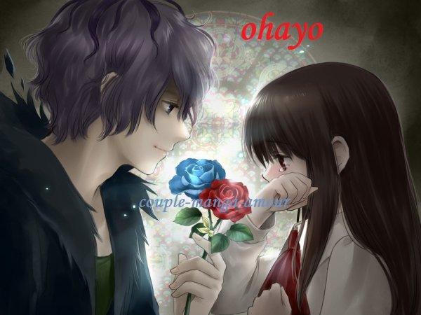 ohayo ('.')