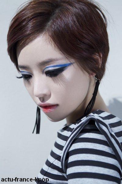 """Photo du Comeback de Ga-in / Voici les photos du comeback de Ga-in (Brown Eyed Girls) avec sa nouvelle chanson """"Bad Temper"""".Vous en pensez quoi?"""