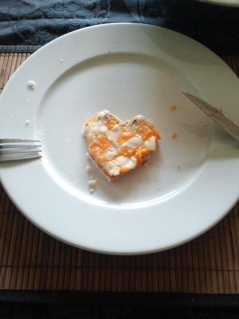Pizza de l'amour ! <3