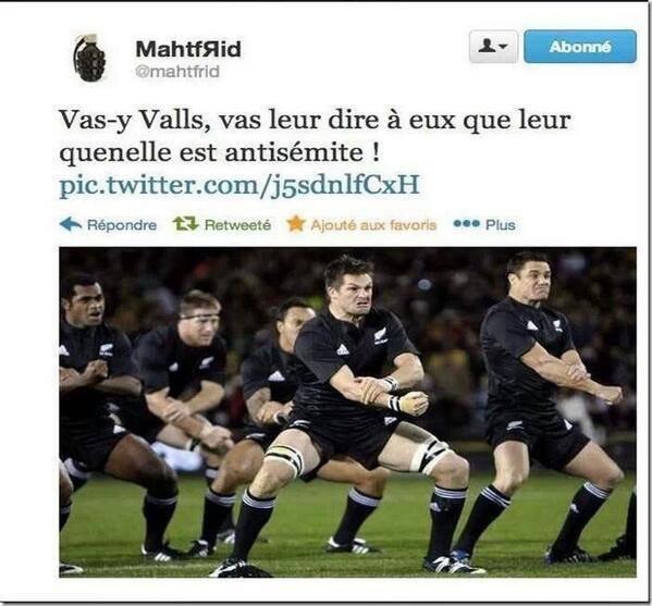 Valls c'est pour toi ...