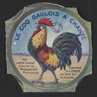 """Le coq l'emblème """" France """""""