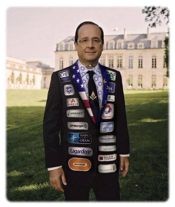 Les sponsorts d'HOLLANDE ou bien les groupe pour Hollande est aux services