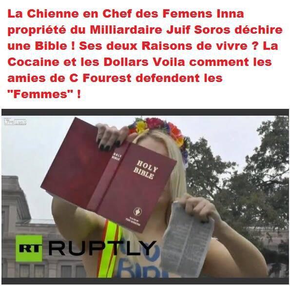 FEMENS regardez la liberté des une commence ou celle des autres s'arrêtes...