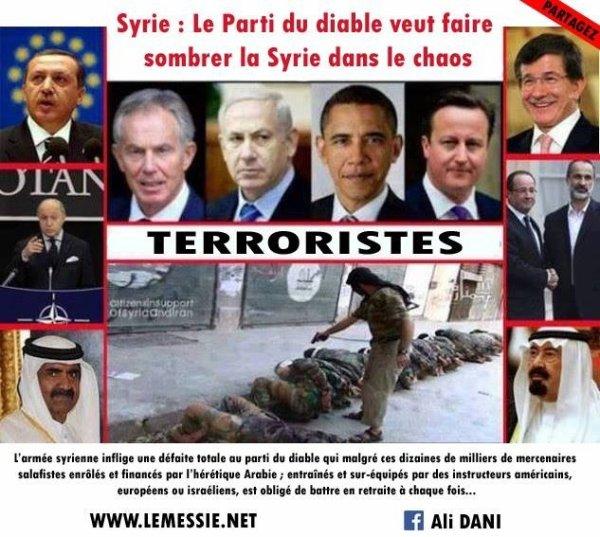 Les vrais terroristes c'est eux...