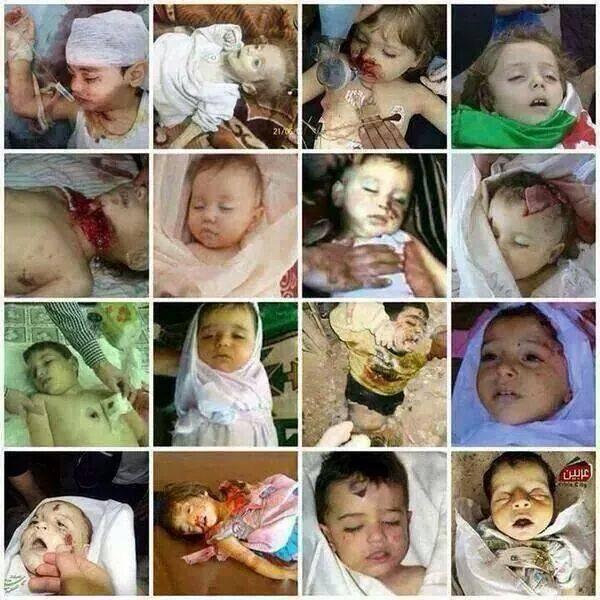 Des centaines d'enfants meurts mais des quadruplés naissent à Gaza...