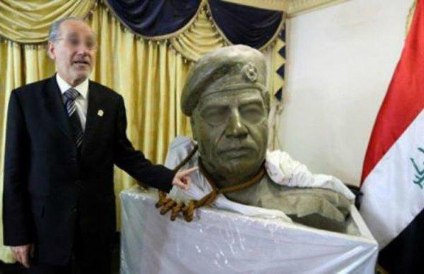 La corde ayant servi à pendre Saddam Hussein mise en vente pour 7 millions de dollars ! ....