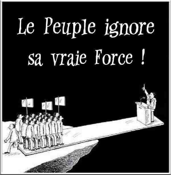 Le peuple...