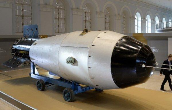Moscou expose pour la première fois la plus puissante bombe nucléaire jamais conçue...Rien que ça