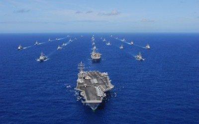 La Russie brouille les commandes du porte-avions Ronald Reagan et de la 7ème flotte ...