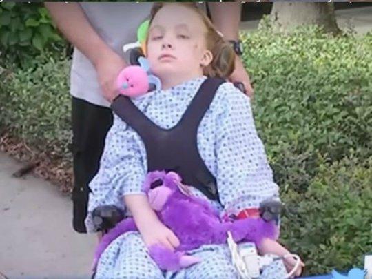 Une petite fille de 9 ans paralysée 3 jours après le vaccin contre la grippe...