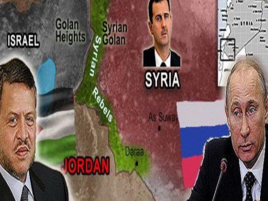 Poutine contourne Israël et ouvre un QG en Jordanie...