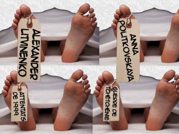 Des cadavres sous le bureau de Poutine...
