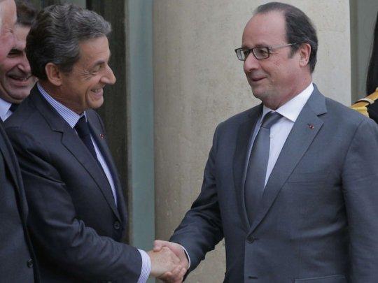 Hollande-Sarkozy : le pacte... Ils nous enfffffummmeeeeent ...