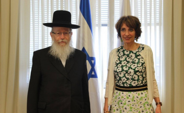 Quand le ministre israélien de la Santé a refusé de serrer la main à Marisol Touraine...