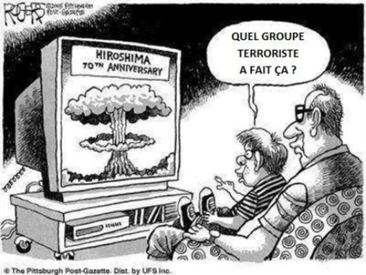 Ah de ces terroristes ils sont gentils fiston...