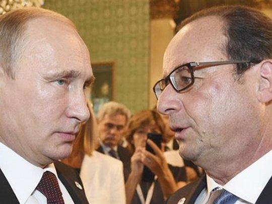 """Poutine à Hollande au téléphone: """"vous allez tout bonnement déclencher une nouvelle guerre mondiale""""... JE SAIS PAS OU ON VA? MAIS ON Y VA LES PIEDS EN AVANT..."""