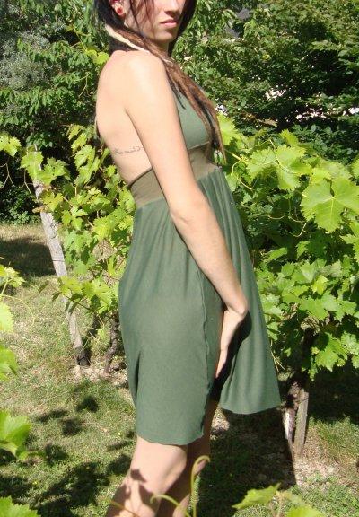 Petite robe dos nu