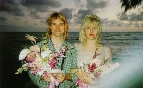 La rencontre entre Kurt et Courtney .