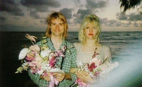 La rencontre entre Kurt et Courtney .