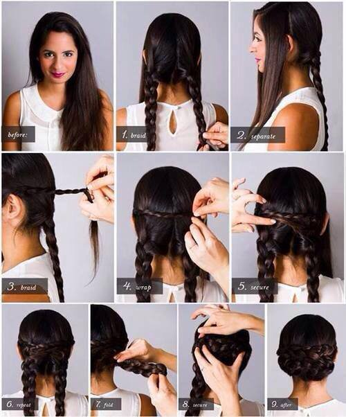 #Tuto coiffure