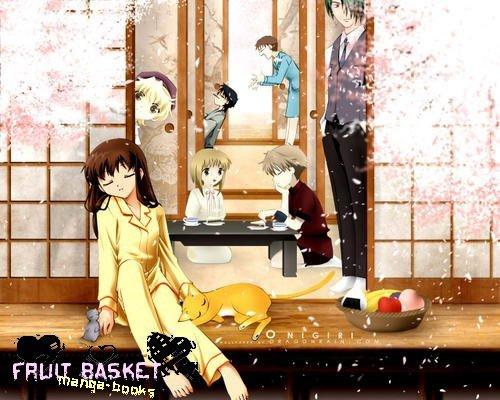 Fruit Basket Du même mangaka : Accords Parfaits, Ceux qui ont des Ailes, Démons et Chimères,  Twinkle stars.
