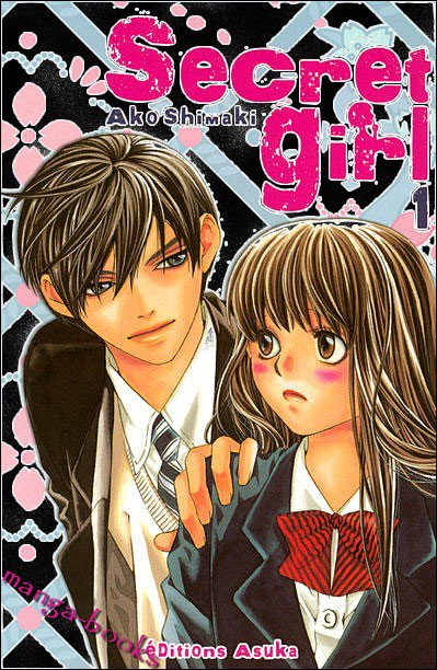 Secret girl Manga-books