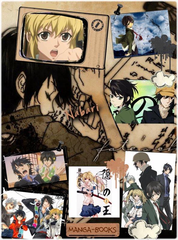 Nabari No Ô Manga-Books