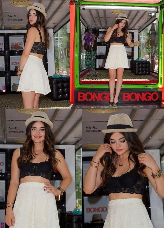 26/06 : Ashley Benson a été vue à une station essence à Los Angeles... Les paparazzis ne la lache pas d'une semelle. J'adore sa tenue... Décontractée mais très jolie. Top !