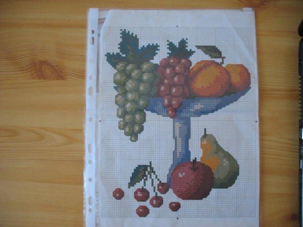 Une coupe de fruits (modèle)