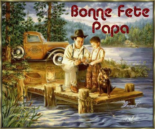 bonne fête des papas......