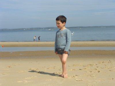 mon bébé à la plage