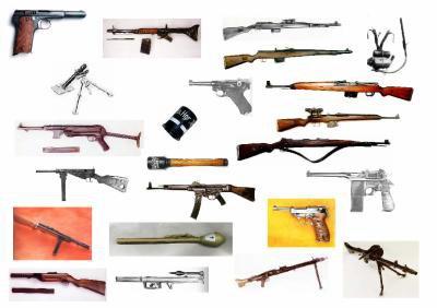 Les armes de l'Allemagne Nazie