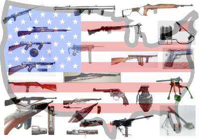 Les armes des Etats-Unis