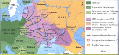Carte Urss.La Carte De La Guerre D Urss Operation Barbarossa La Seconde