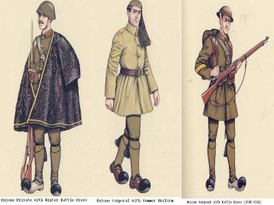 L'armée de terre grecque