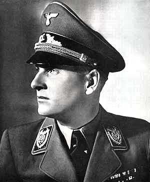 Baldur von Schirach (chef de la jeunesse Hitlérienne gauleiter de Vienne)
