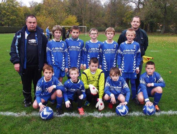 ma petite équipe de foot u11 de cette nouvelle saison