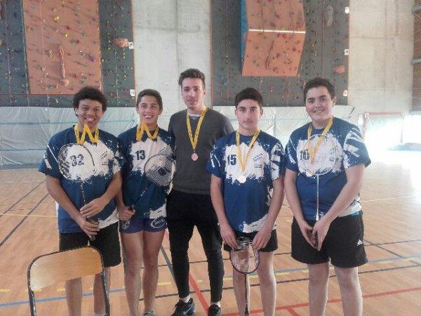 Championnat Académique de Badminton à Caussade