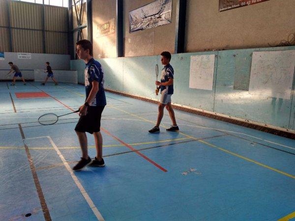 6 décembre : 2ème journée badminton !