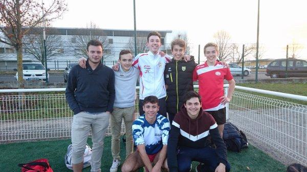 Ils sont Champions départementaux de foot à 7 !