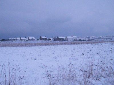 Après les tempêtes, faisons une place pour la neige à Ouessant !