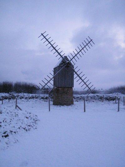 1er décembre 2010 : Il neige sur le caillou !