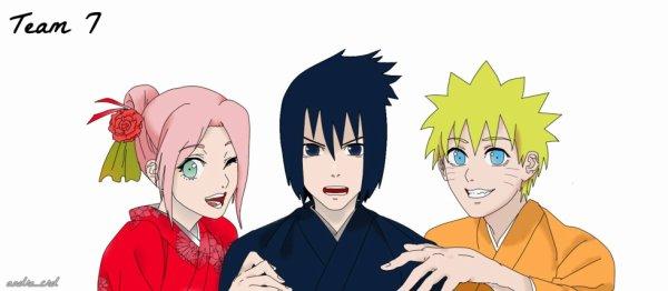 Team 7 : Naruto, Sakura & Sasuke #1st RPC