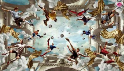 Le Nouveau Plafond De La Chapelle Sixtine Mn Sky