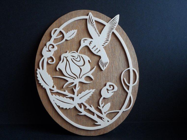 Rose Colibri