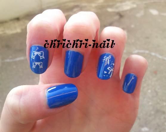 bleu majorelle avec stamping