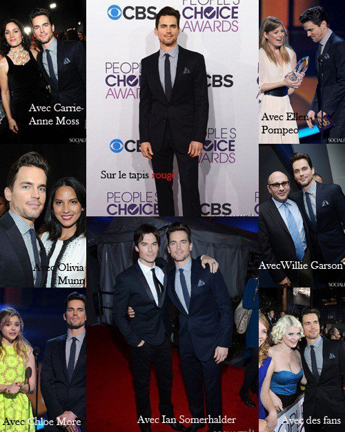 Matt Bomer au People's Choice Awards 2013.