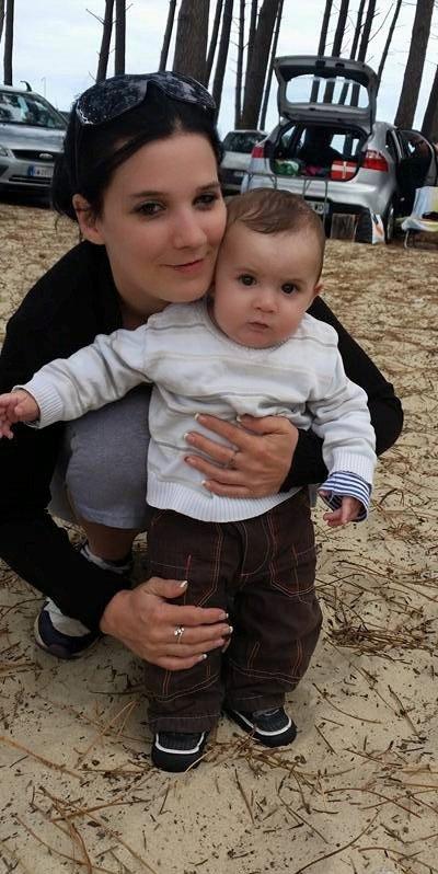 mon bébé a la plage