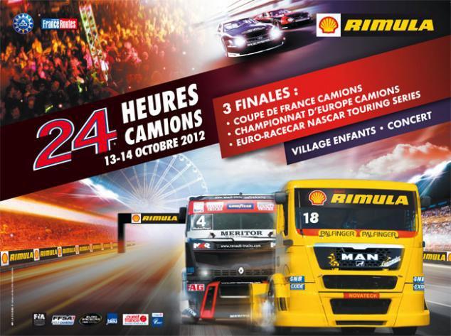 24 heures camion 2012 au Mans
