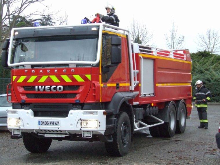 camion pompier CCGM